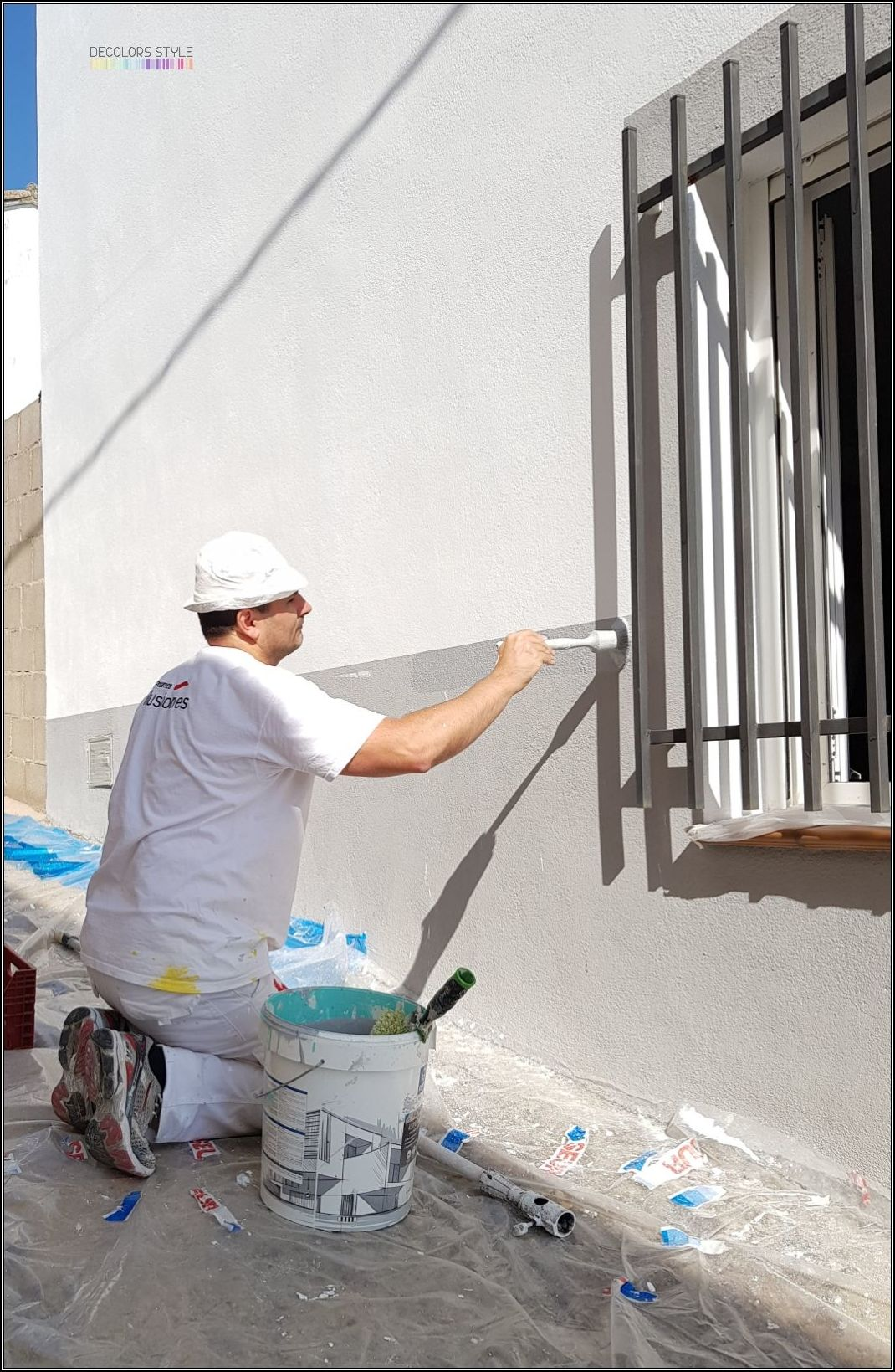 Pintura exterior fachada