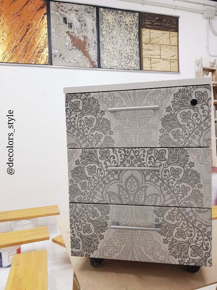 Muebles- Papel decorativo