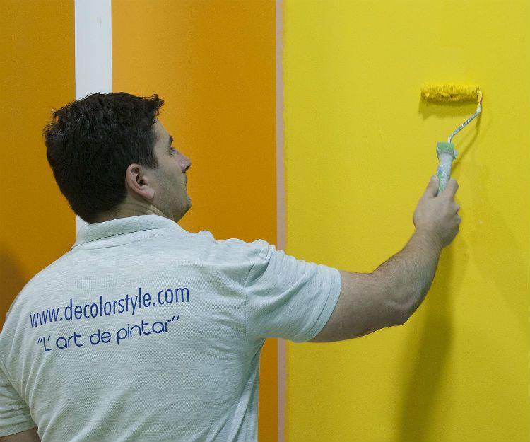 Pintores profesionales en Eixample, Barcelona