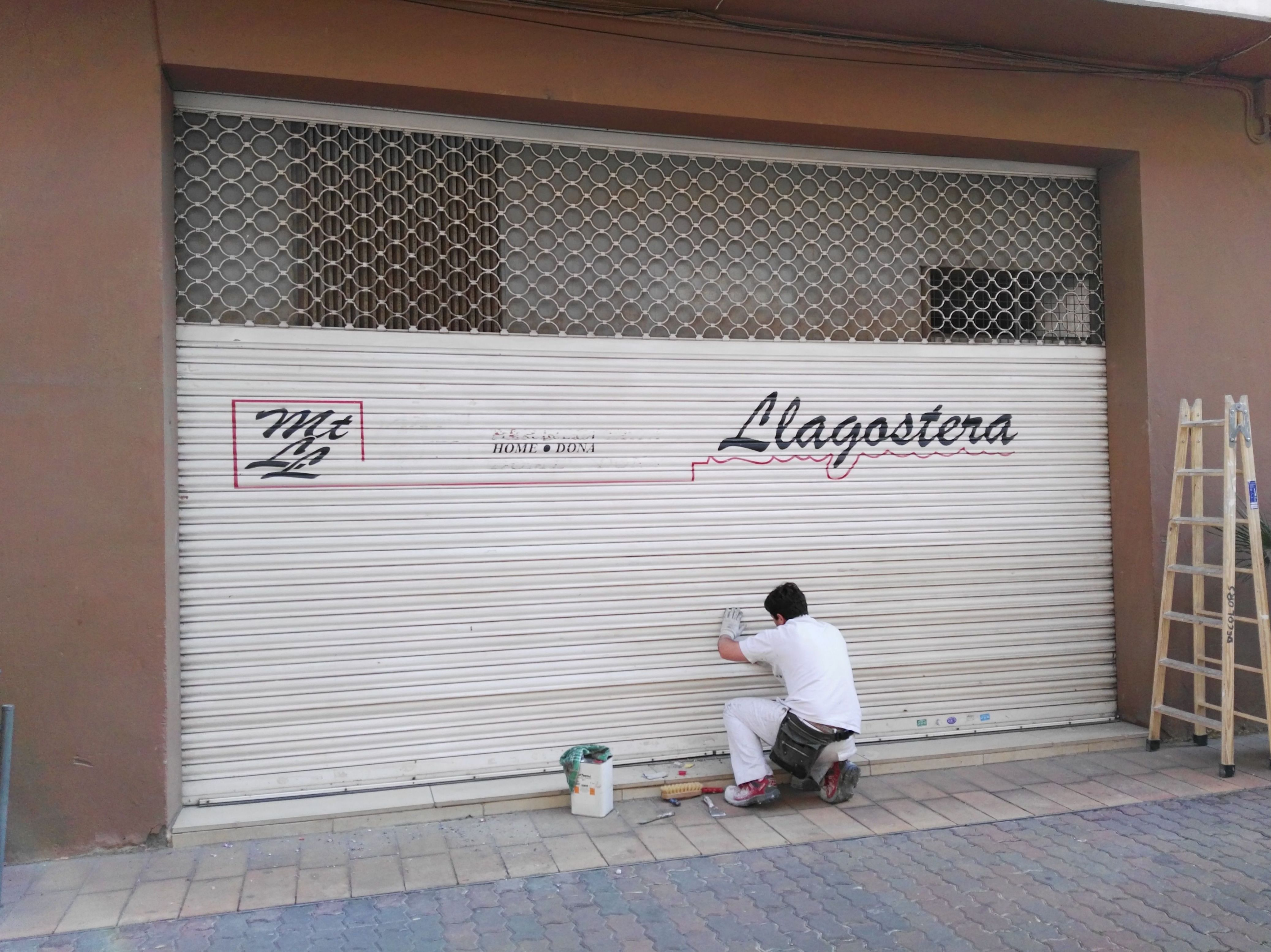 Locales Comerciales: Trabajos de Decolors Style