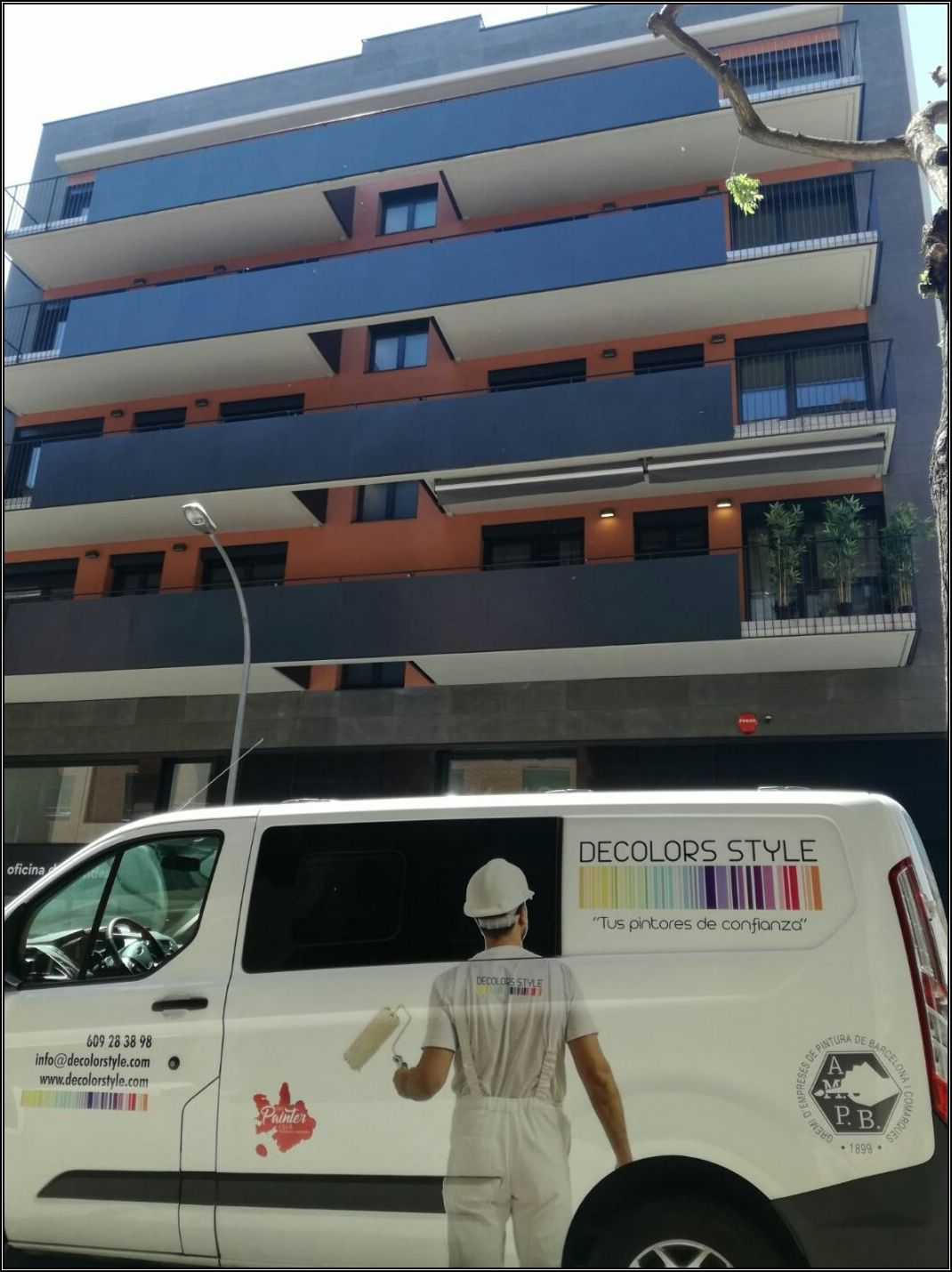 Obra Calle Pere Abanto,13 de Barcelona