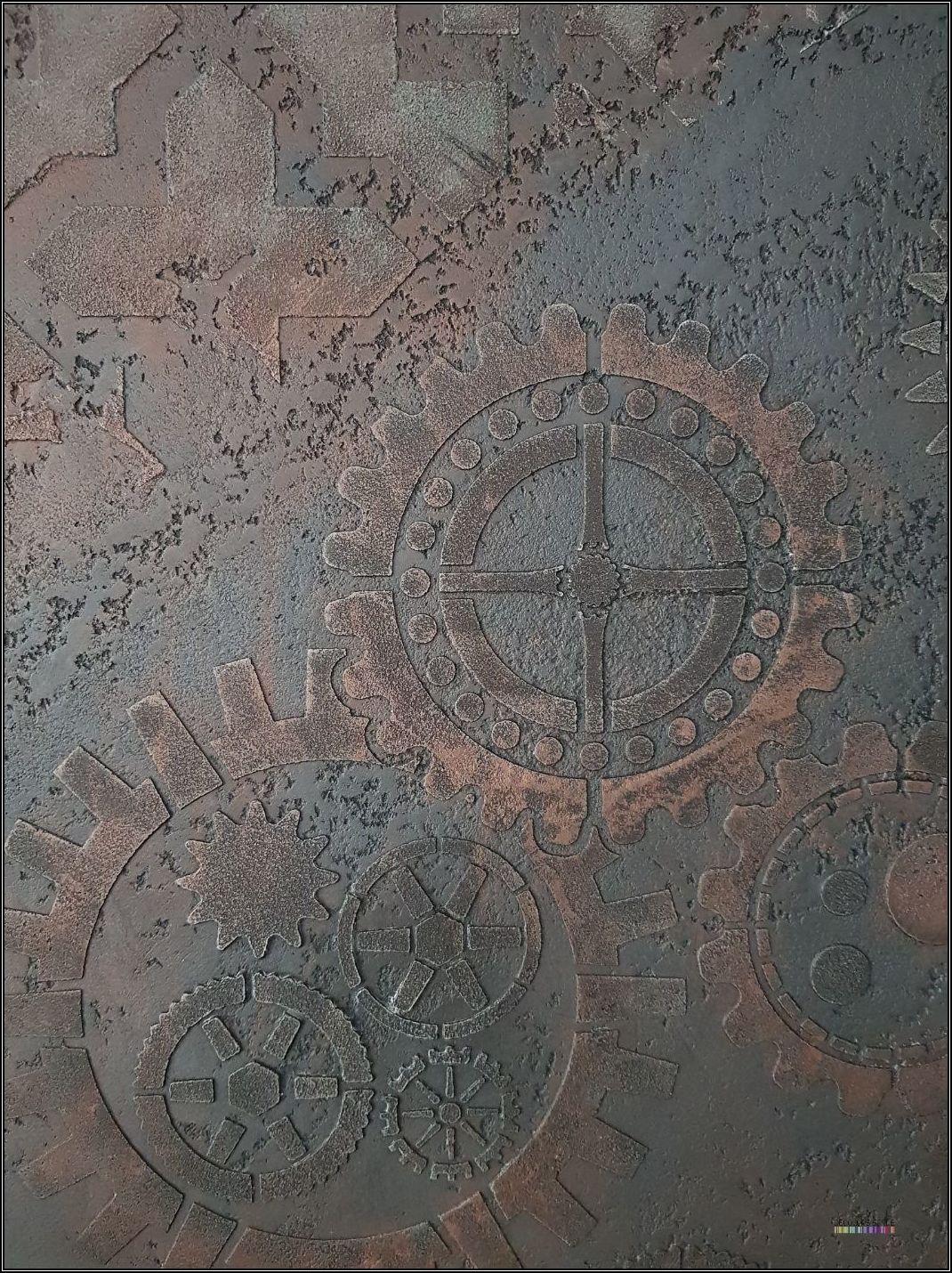 Pintura decorativa - Estilo Industrial