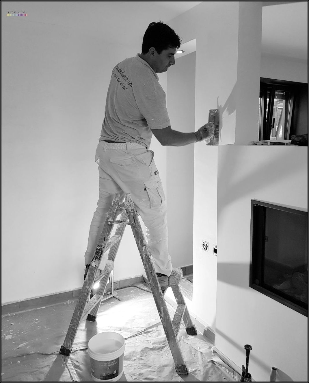 Pintura decorativa - Marmorino Ks