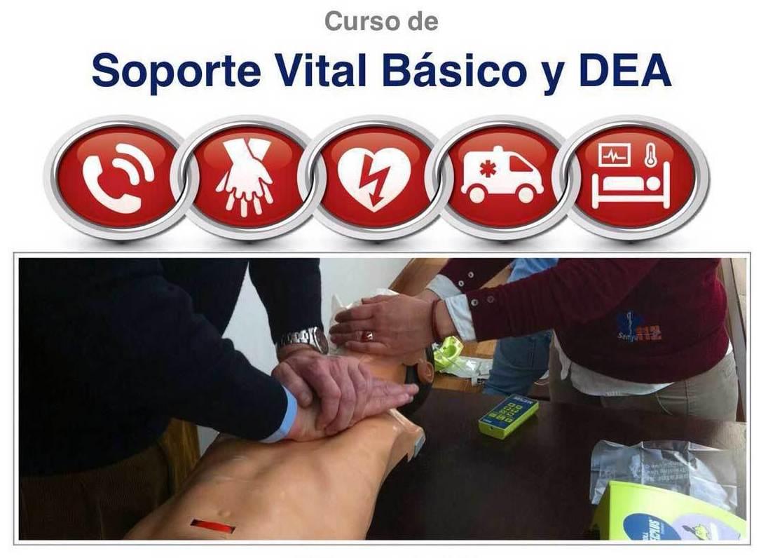 CURSO SOPORTE VITAL BÁSICO Y MANEJO DESFIBRILADOR SEMIAUTOMÁTICO EXTERNO