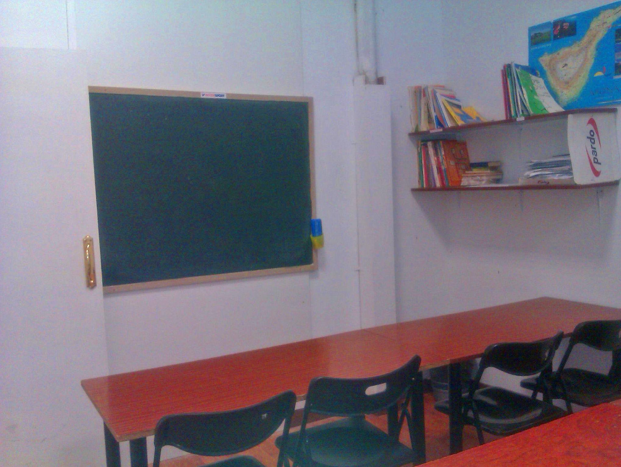 Aula de la academia TENERIFE LOS CRISTIANOS