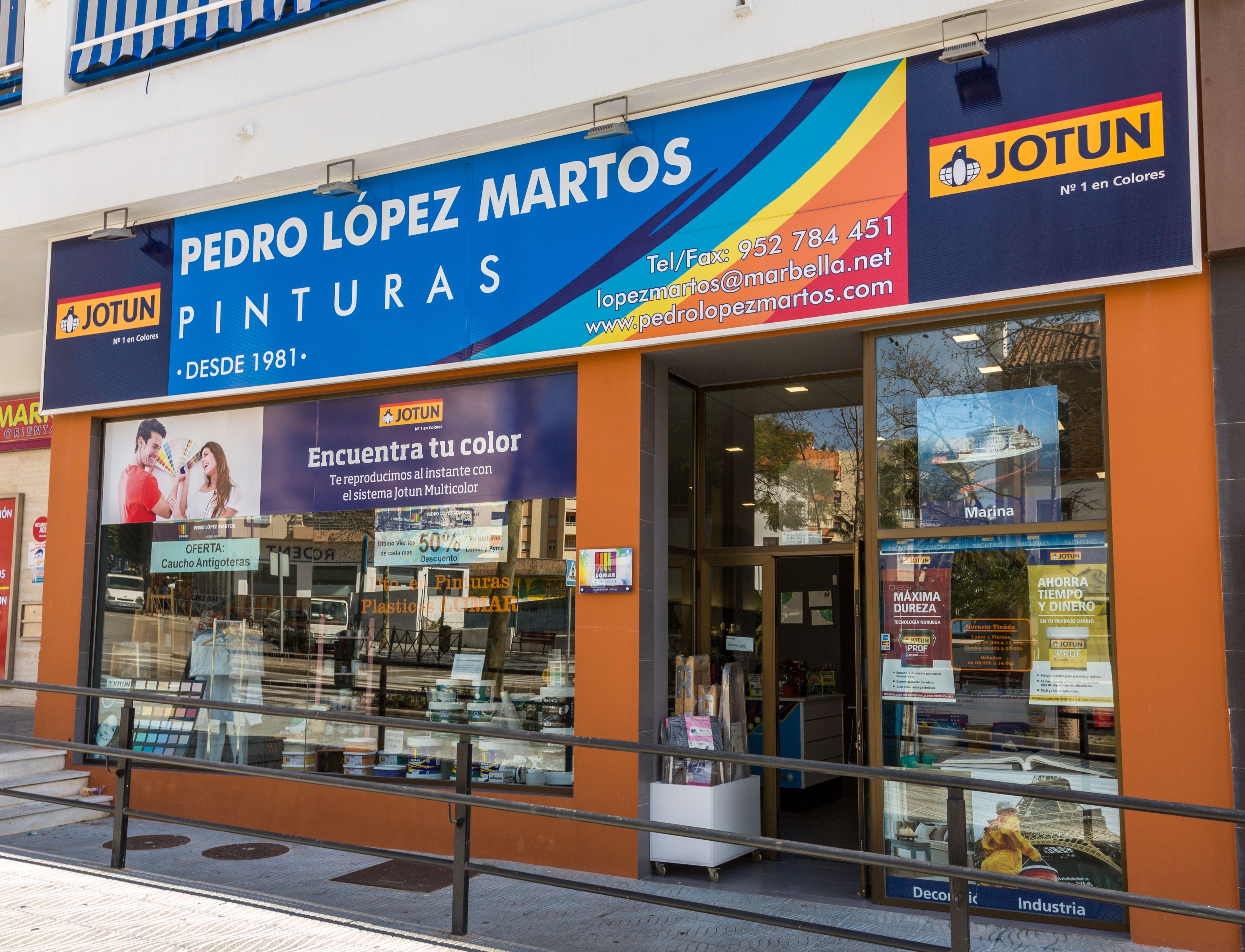 Foto 44 de Pinturas, barnices y papeles pintados en Marbella | Pinturas Pedro López Martos