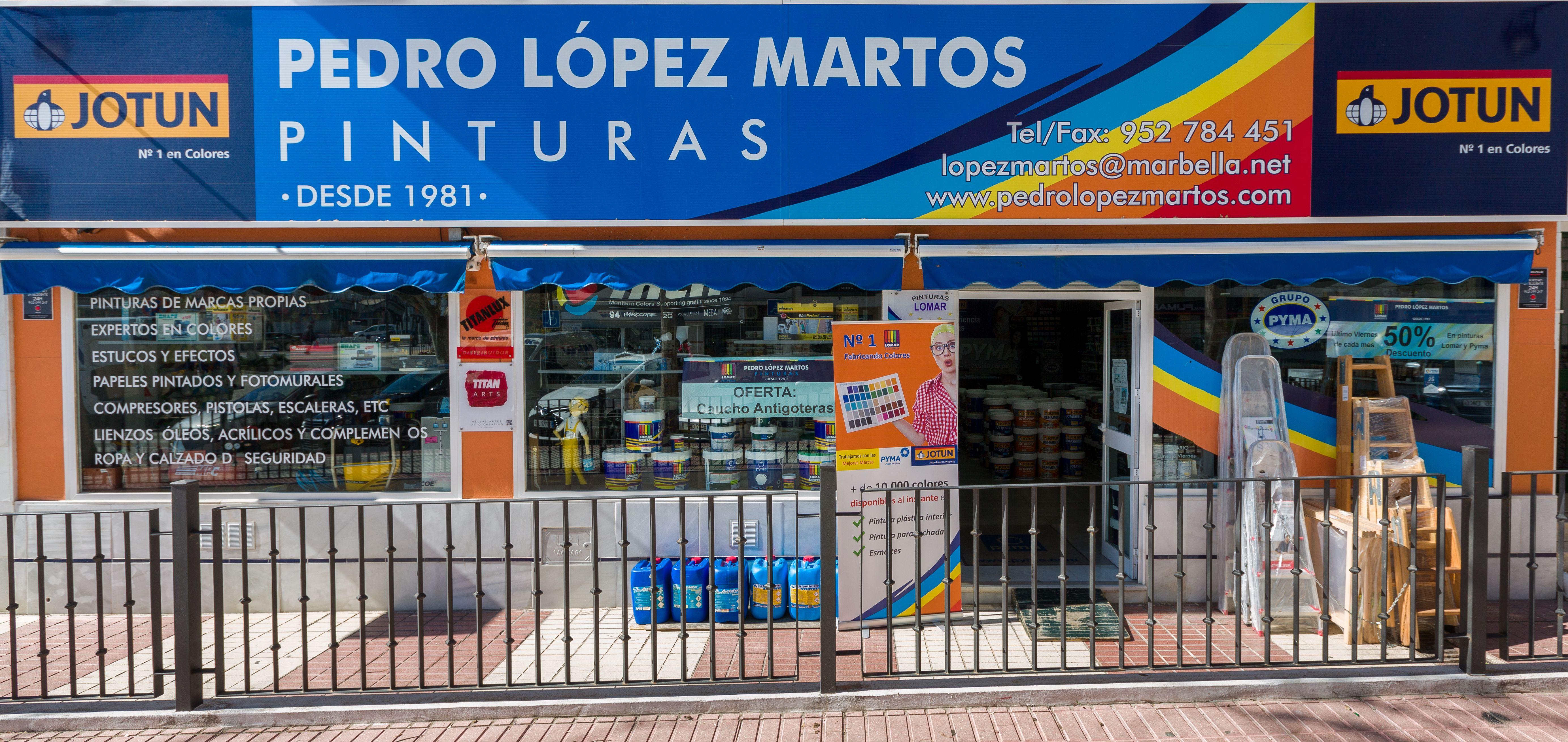 Foto 33 de Pinturas, barnices y papeles pintados en Marbella | Pinturas Pedro López Martos