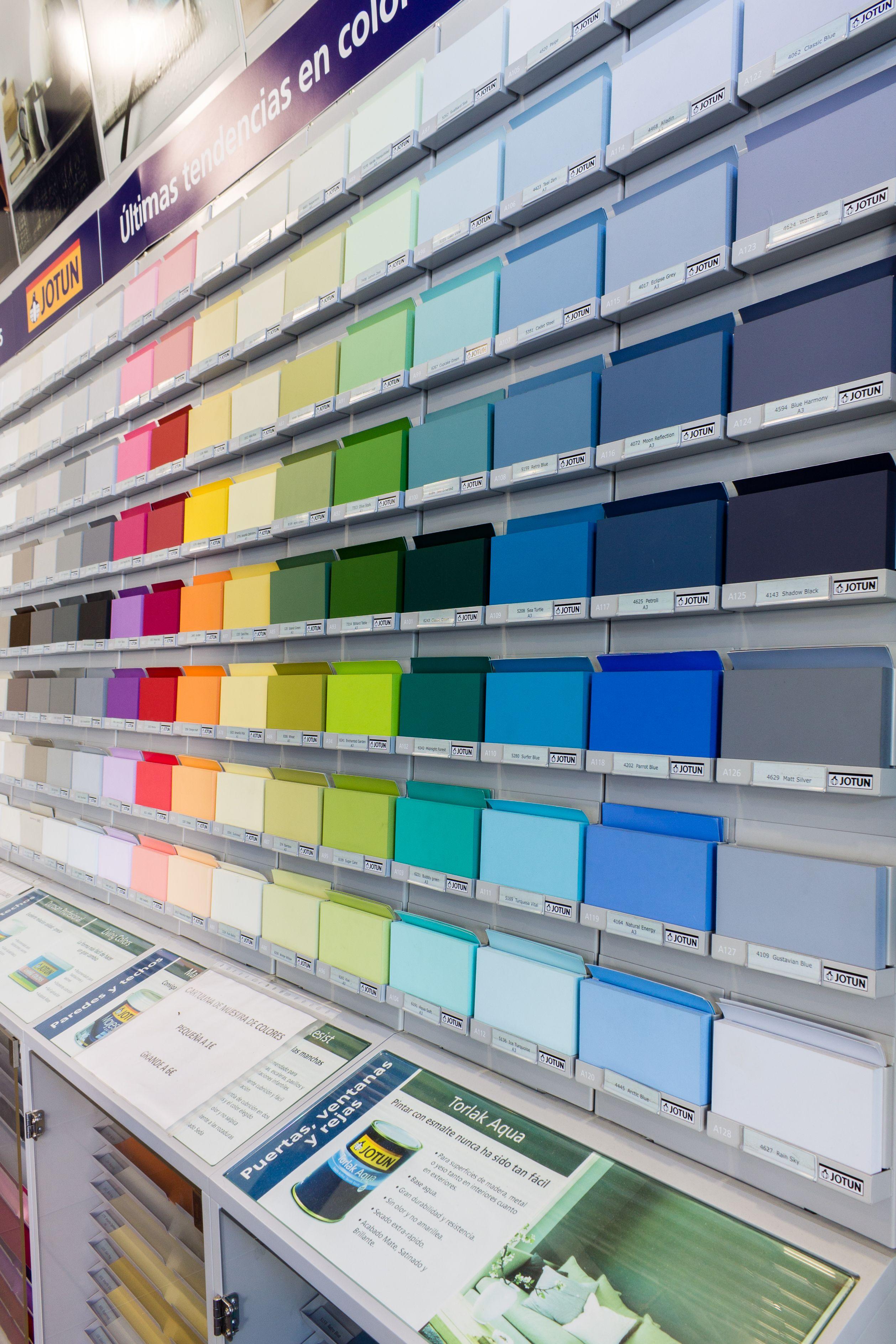 Muestrario colores Pinturas López Martos