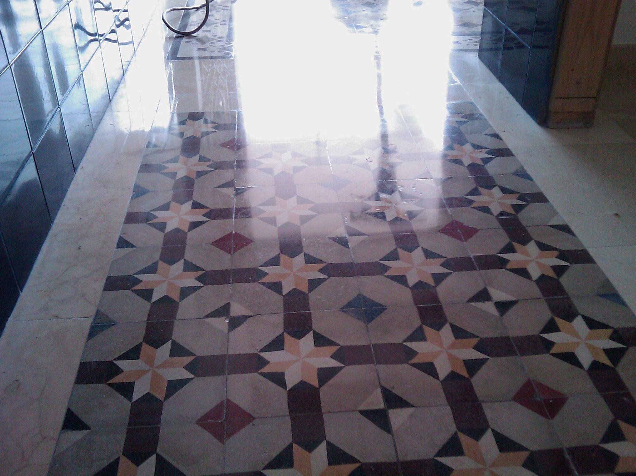 Tratamientos para todo tipo de superficies: mármol, terrazo, barro...