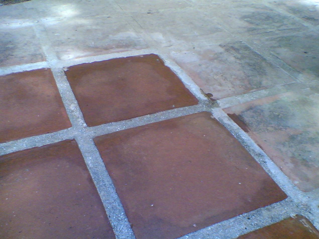 Decapado y tratamientos para suelos de barro ( interior y exterior )
