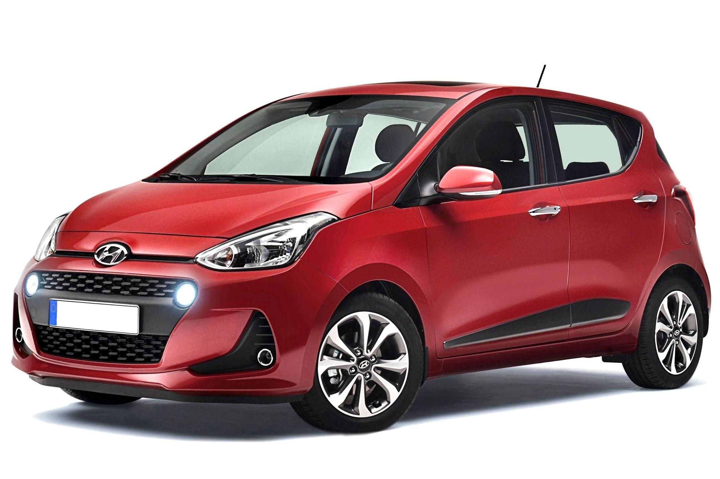 Coche Hyundai I10 gasolina: Flota de Fine Rent a Car