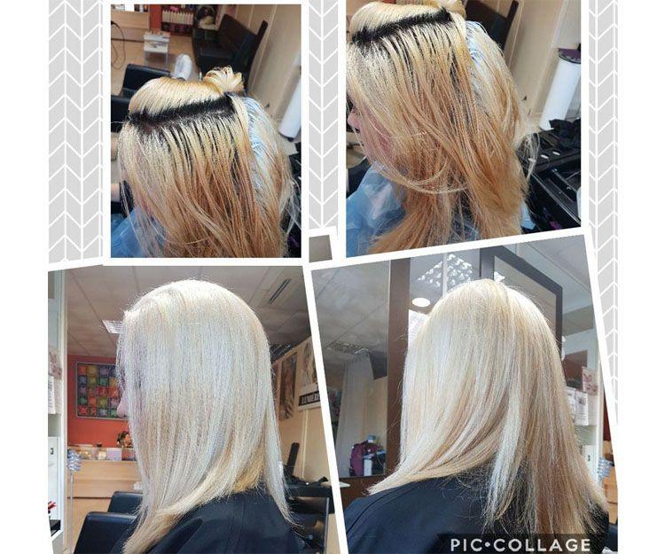 Decoloración del cabello