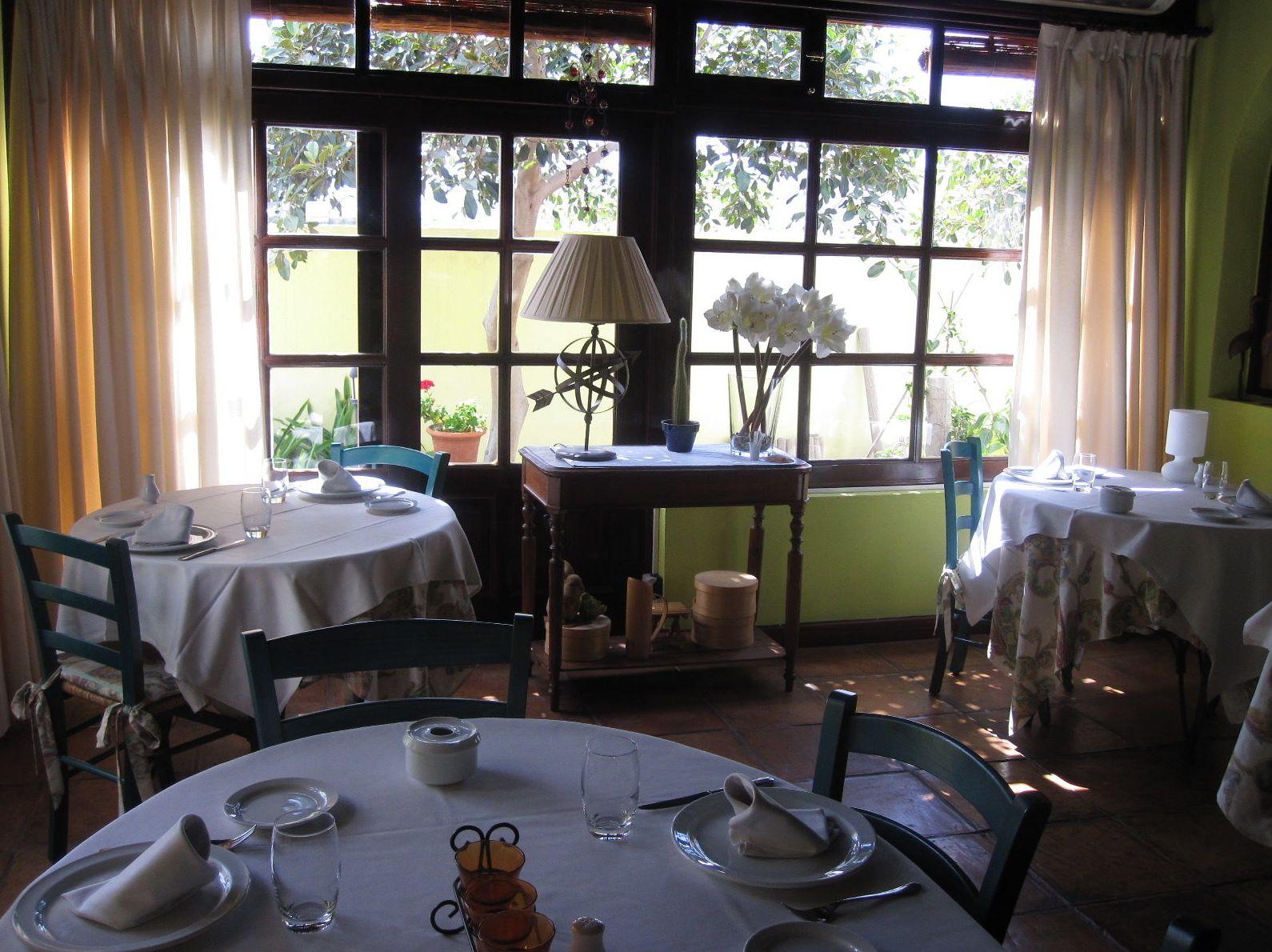 Restaurante tranquilo
