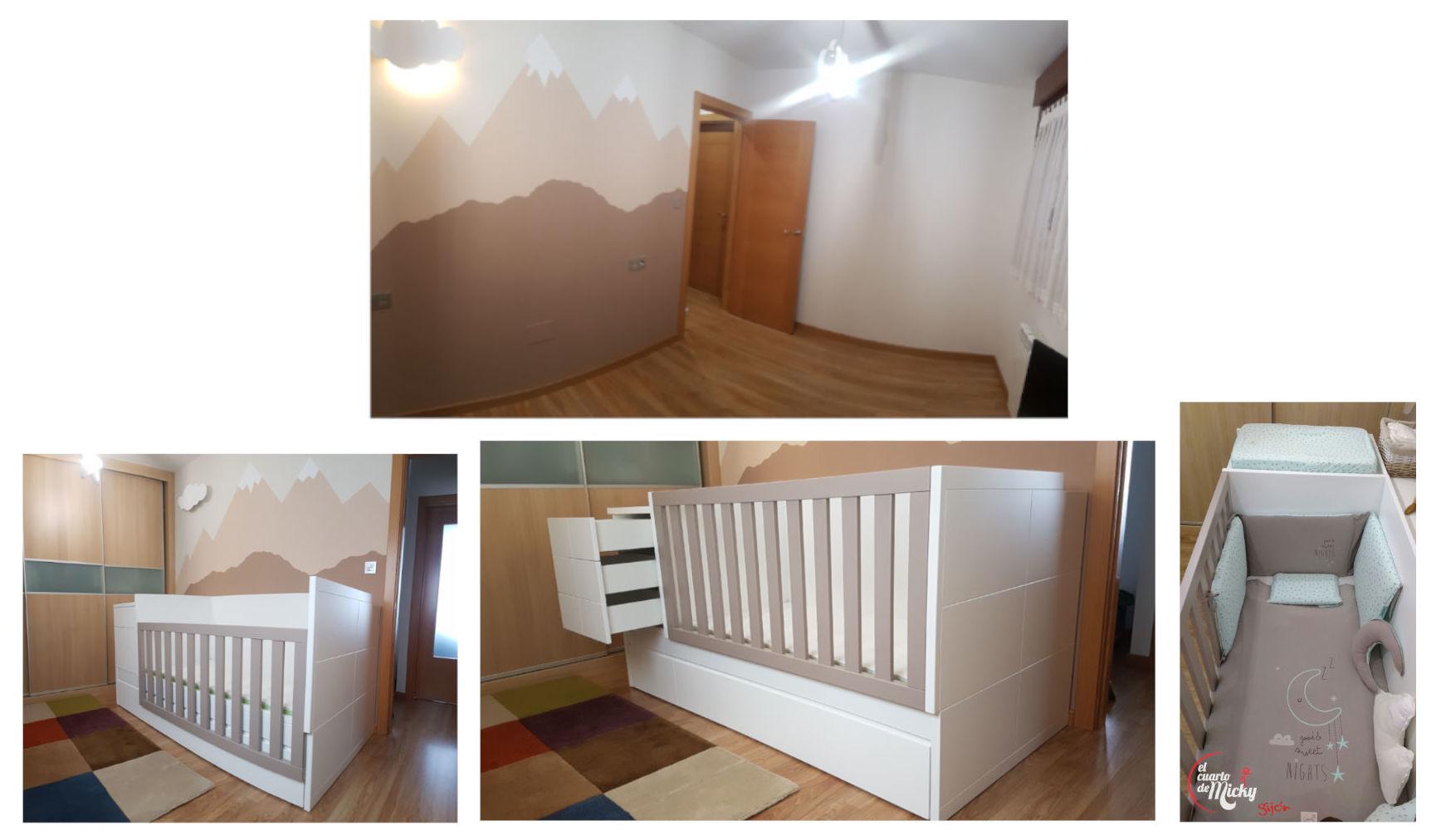 Foto 3 de Muebles y habitaciones infantiles en Gijón | El Cuarto de Micky