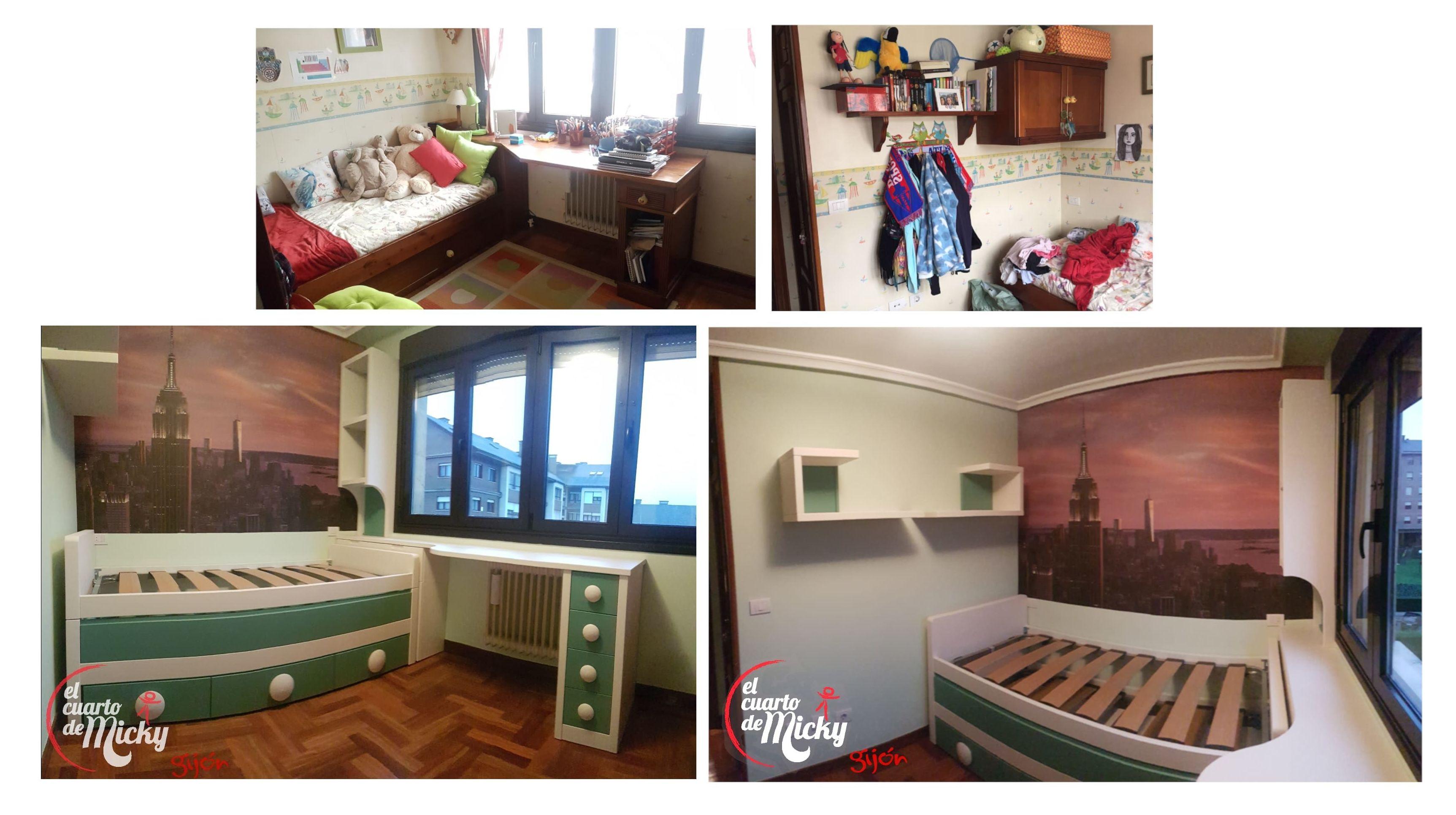 Foto 4 de Muebles y habitaciones infantiles en Gijón | El Cuarto de Micky