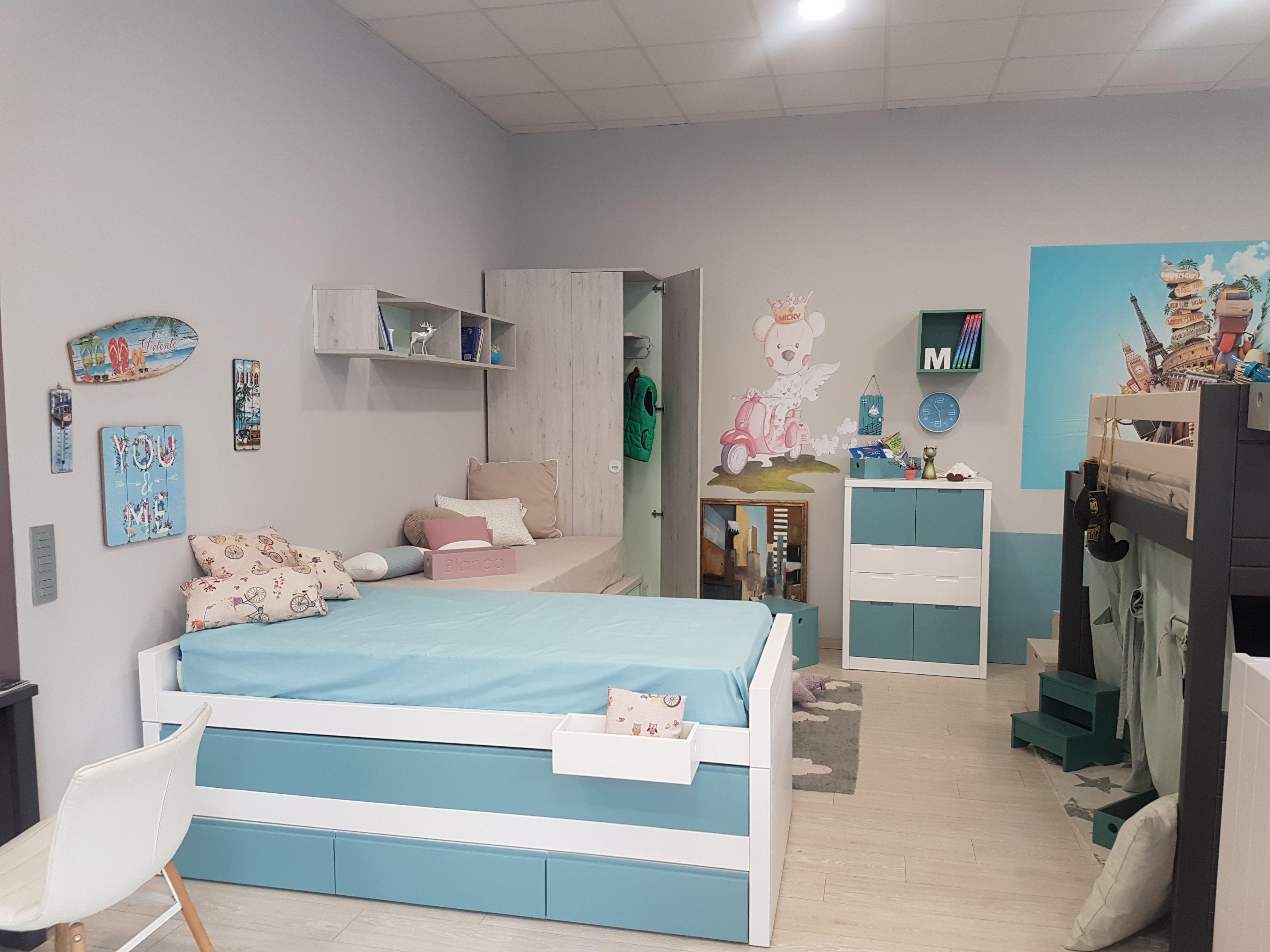 Mobiliario infantil en Gijón