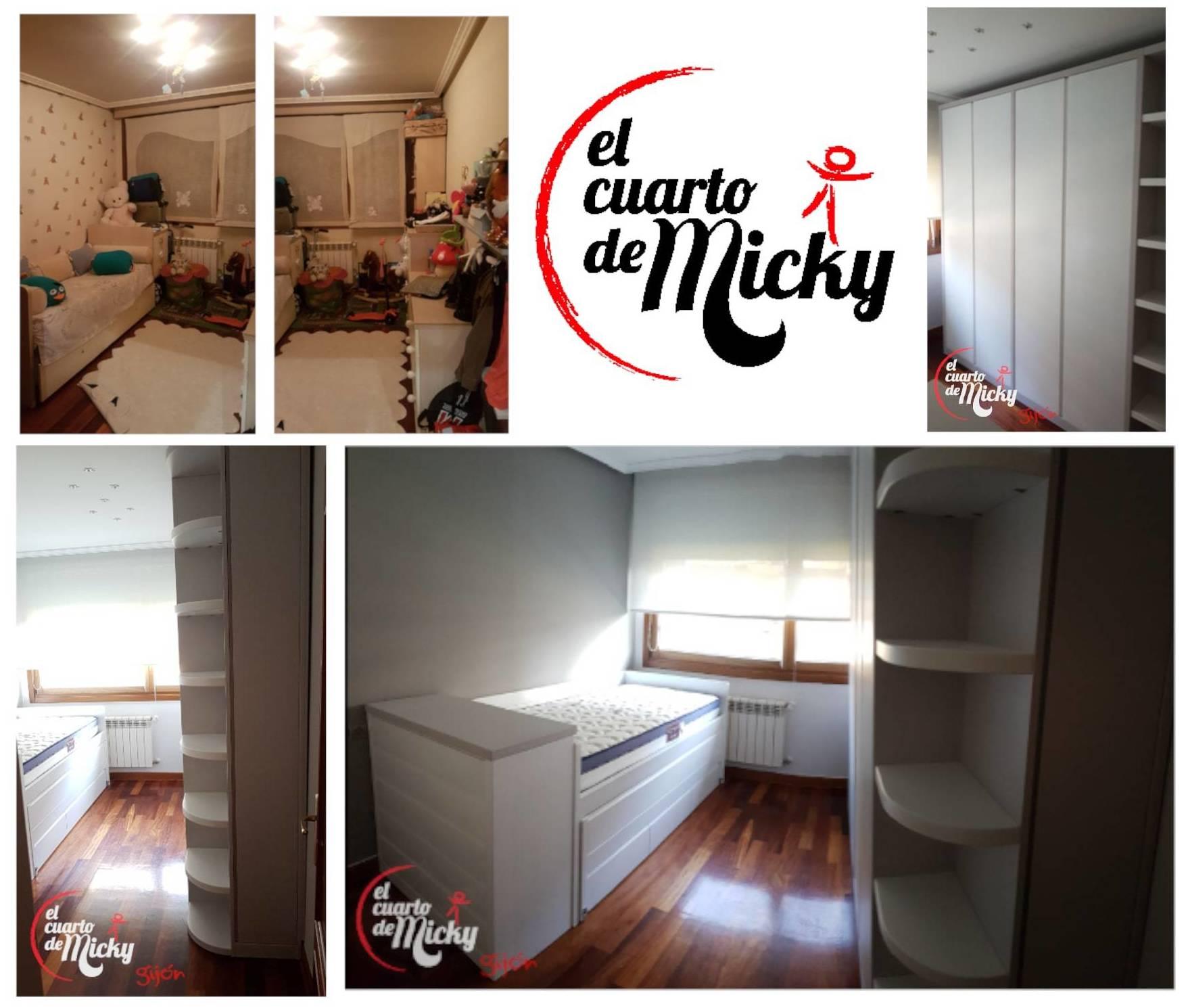 Foto 2 de Muebles y habitaciones infantiles en Gijón | El Cuarto de Micky