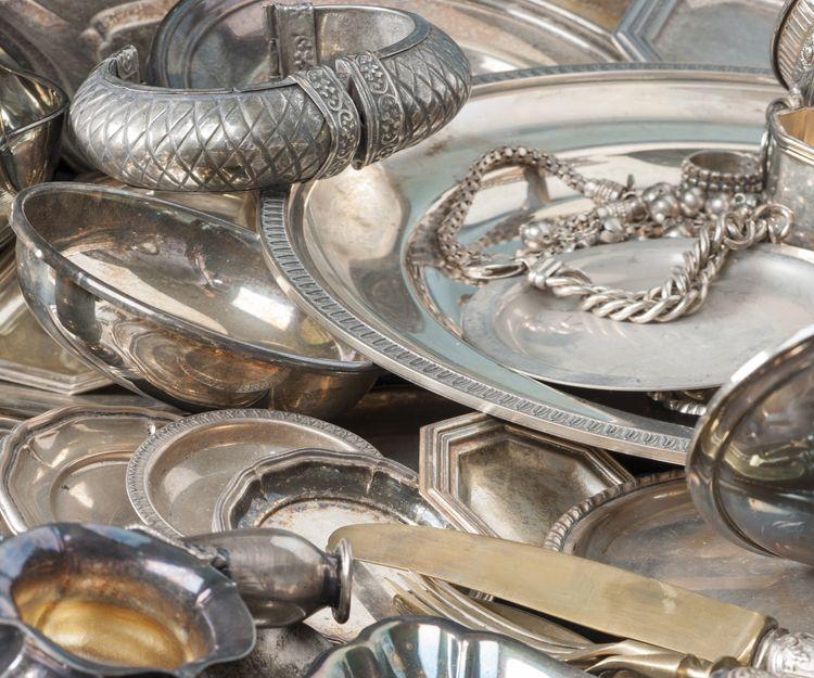Compra y venta de artículos de plata