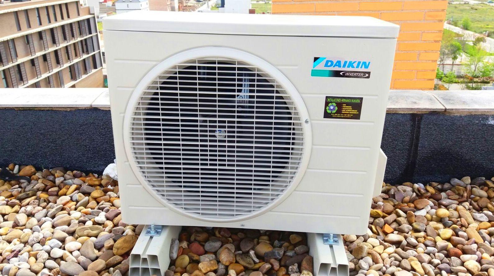 Instalacion de aire acondicionado Daikin