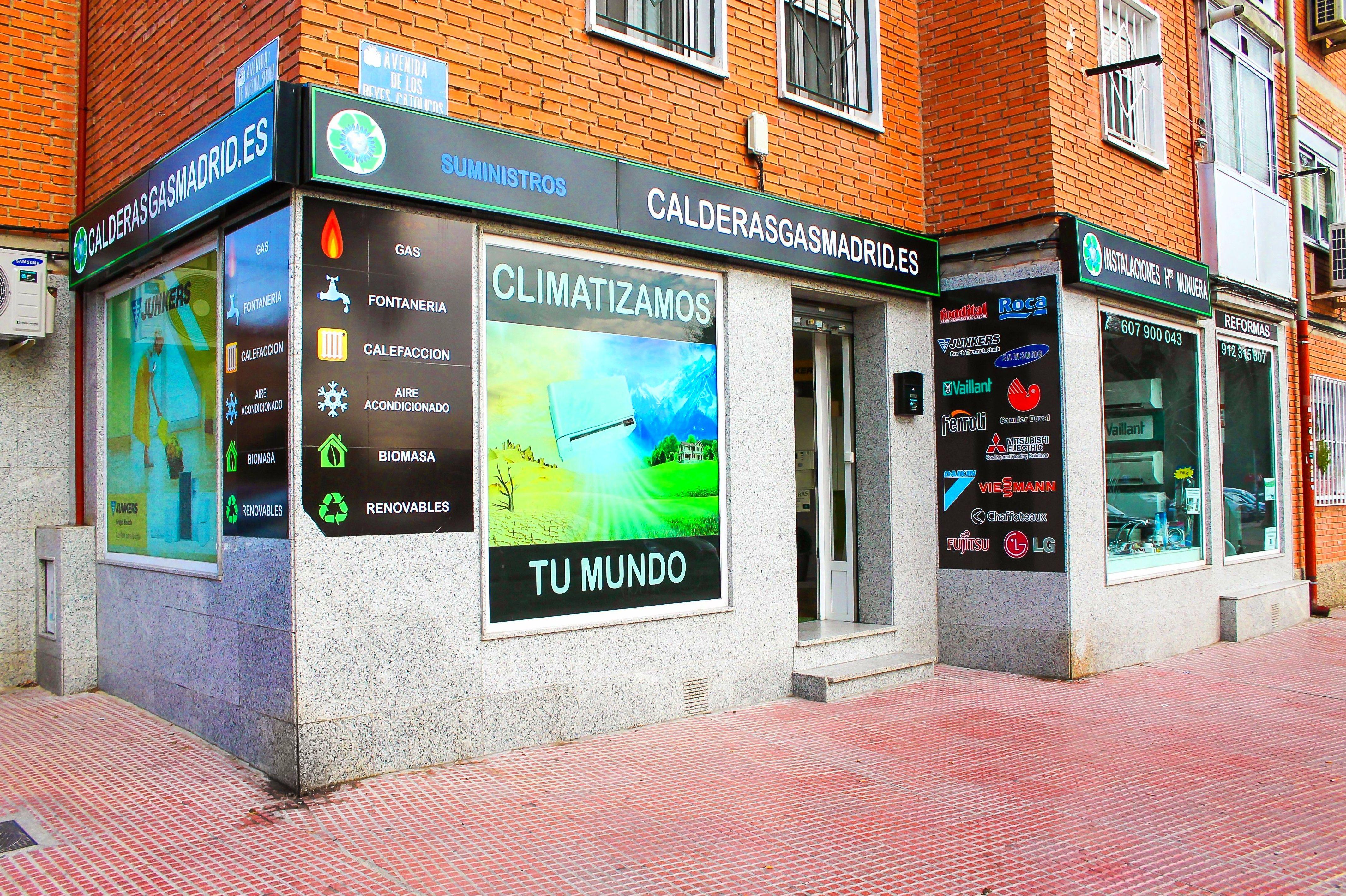 VENTA Y INSTALACION DE AIRE ACONDICIONADO EN ALCALA DE HENARES