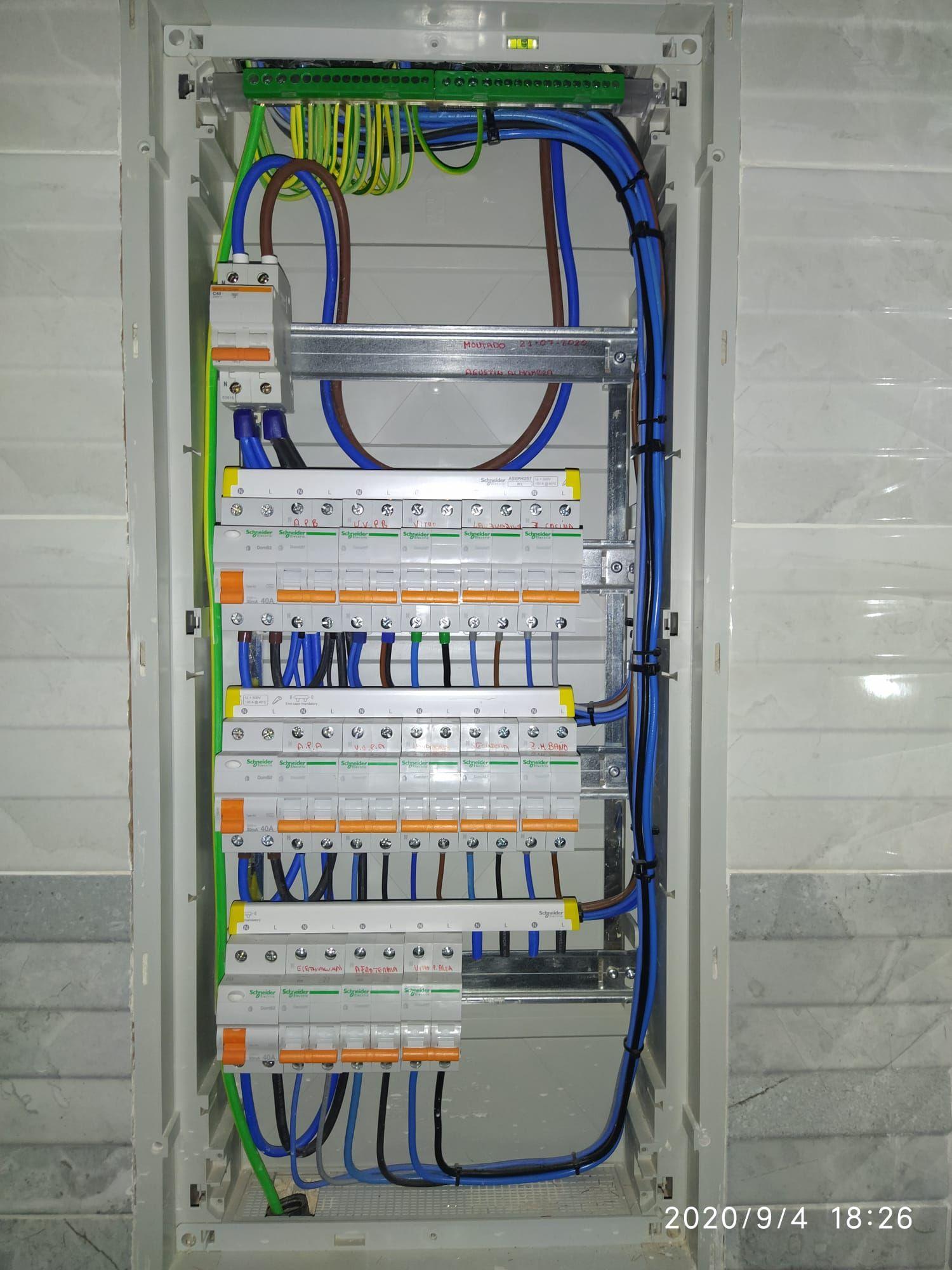 Foto 9 de Electricidad en Sevilla | Electricidad Pablo Sánchez