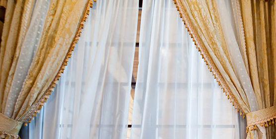 Confección de cortinas para salones
