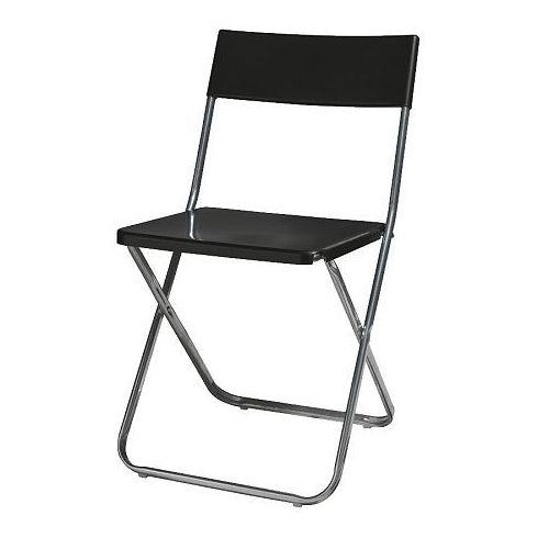 Alquiler de silla plegable color negro, en Asturias.