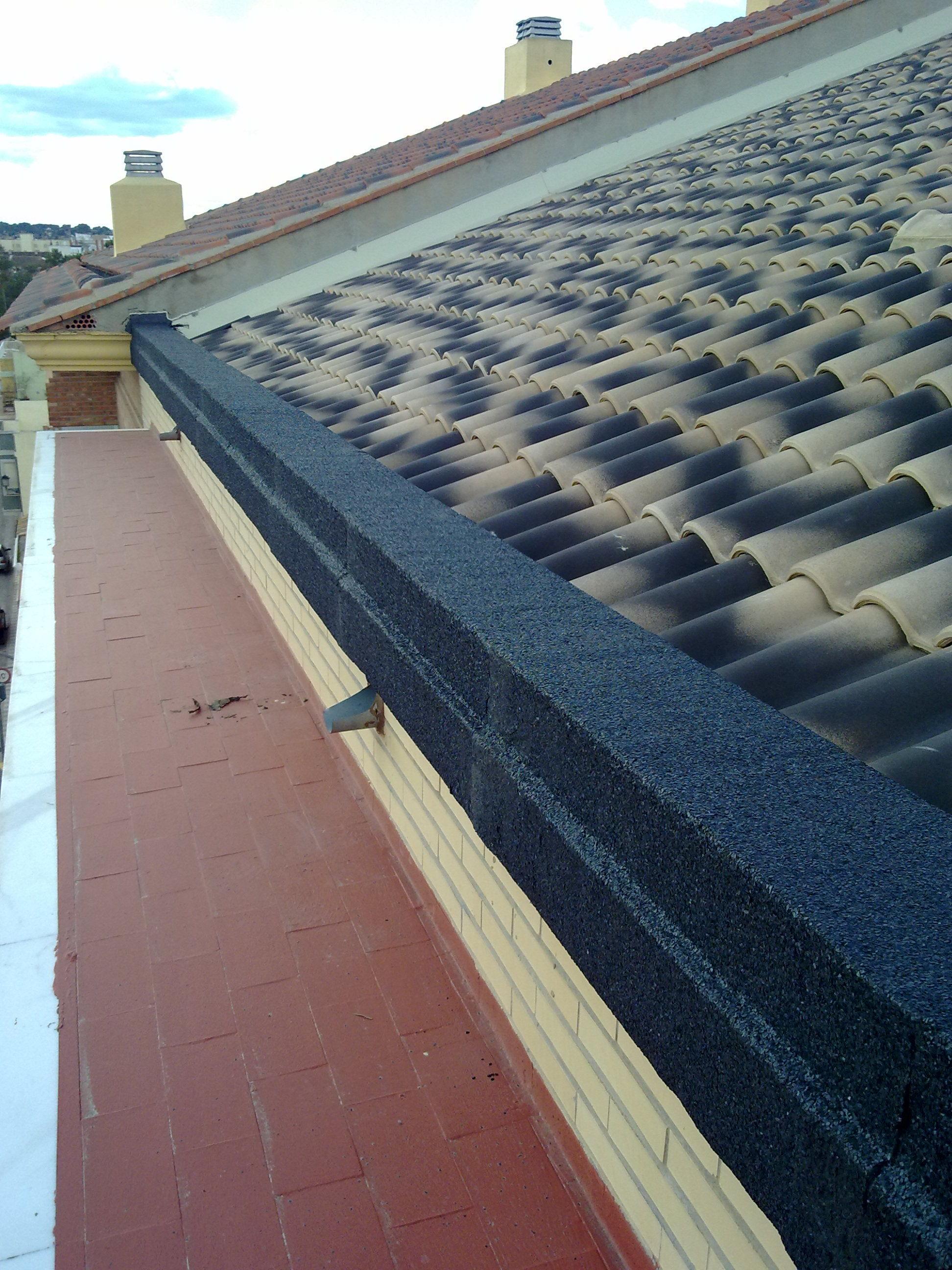 Aislantes en tejados
