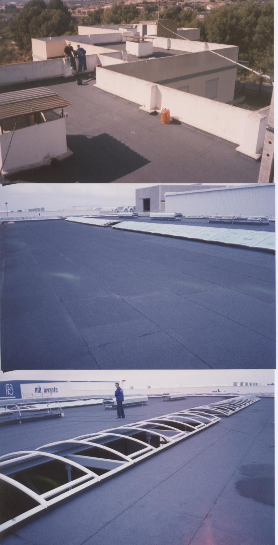 Impermeabiización de tejados