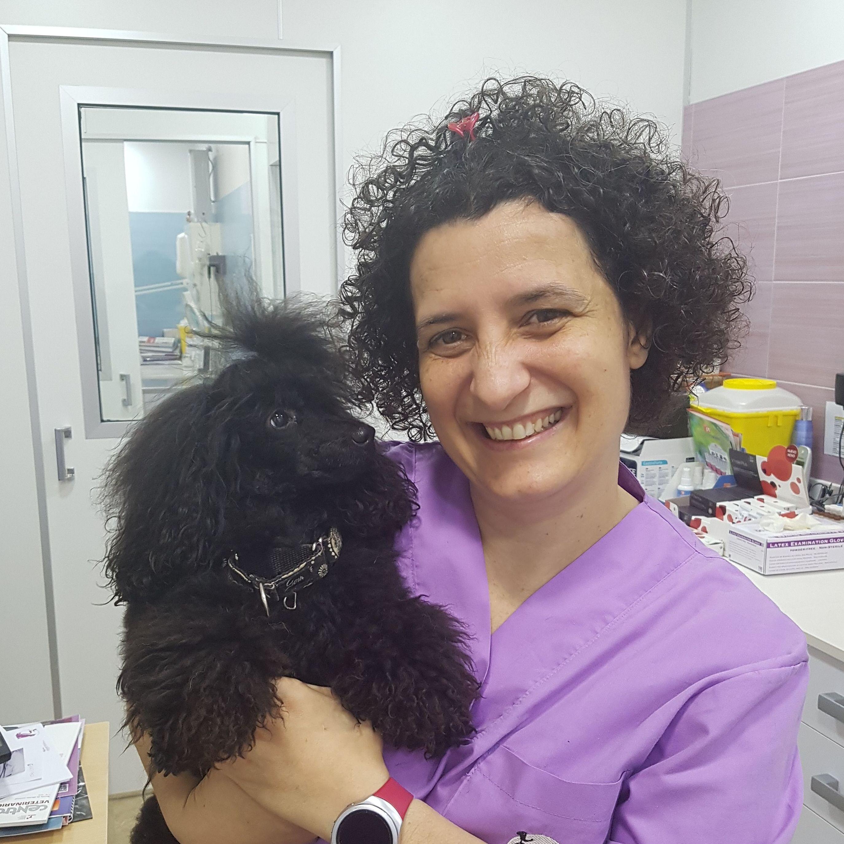 Cuando la veterinaria se parece a sus pacientes