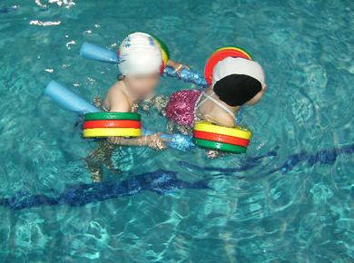 Aprende natación jugando