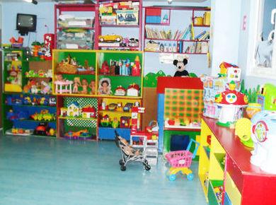 Área donde se encuentran los juguetes