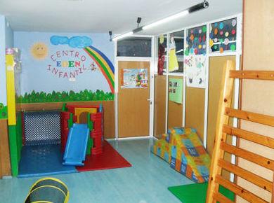 Nuestras instalaciones, área de juego