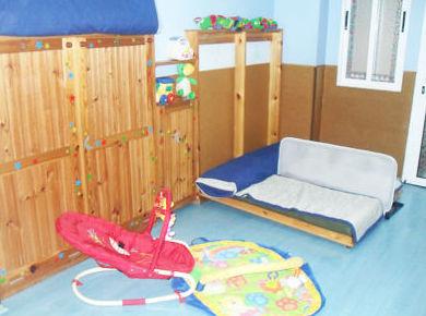 Área para los bebés