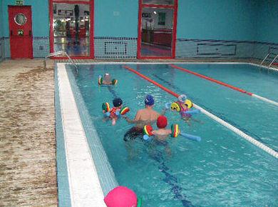 Clases de natación para los niños