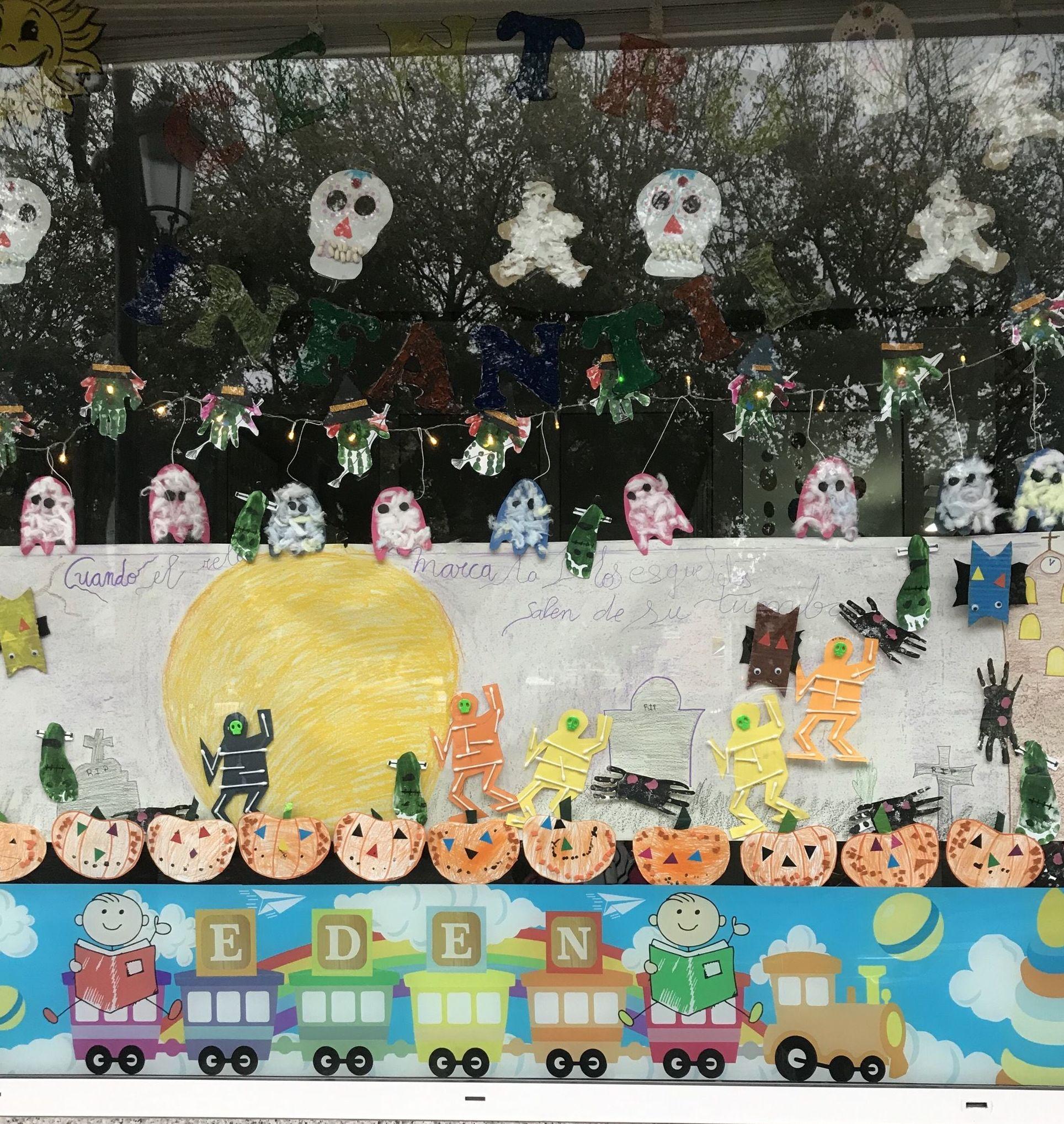 Halloween en guarderias infantiles oviedo