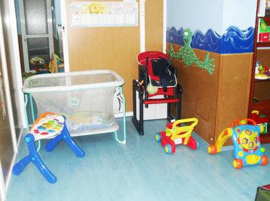 Nuestras instalaciones, aparatos para los más pequeños