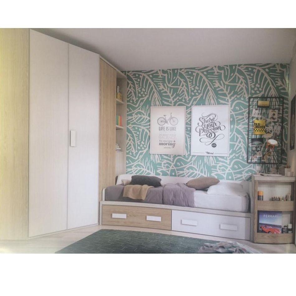 Dormitorios juveniles cat logo de k barato muebles for Catalogo de muebles juveniles