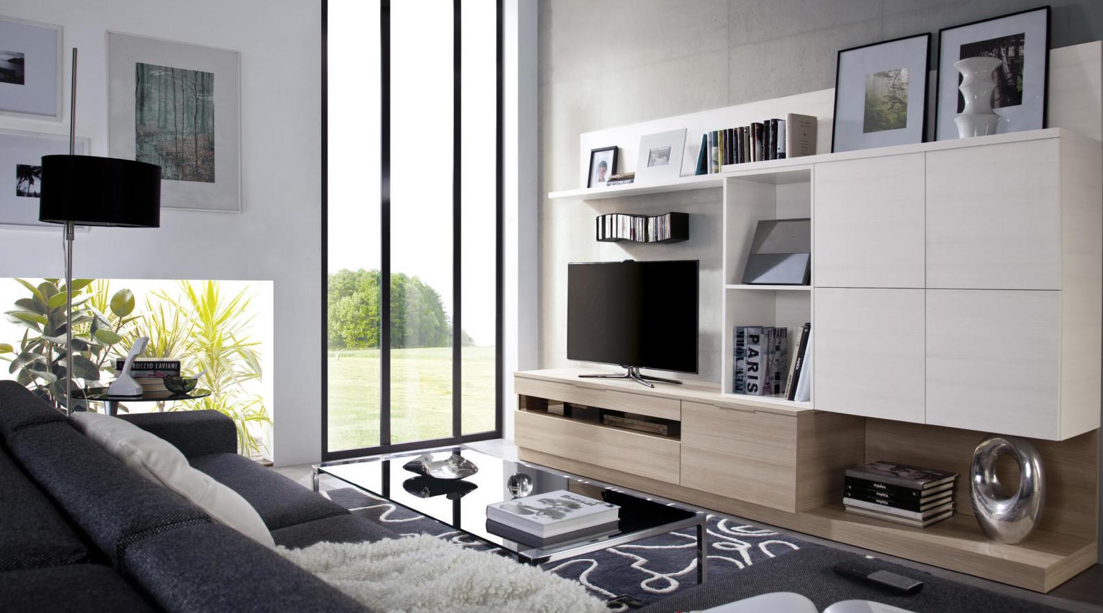 Variedad de muebles de salón