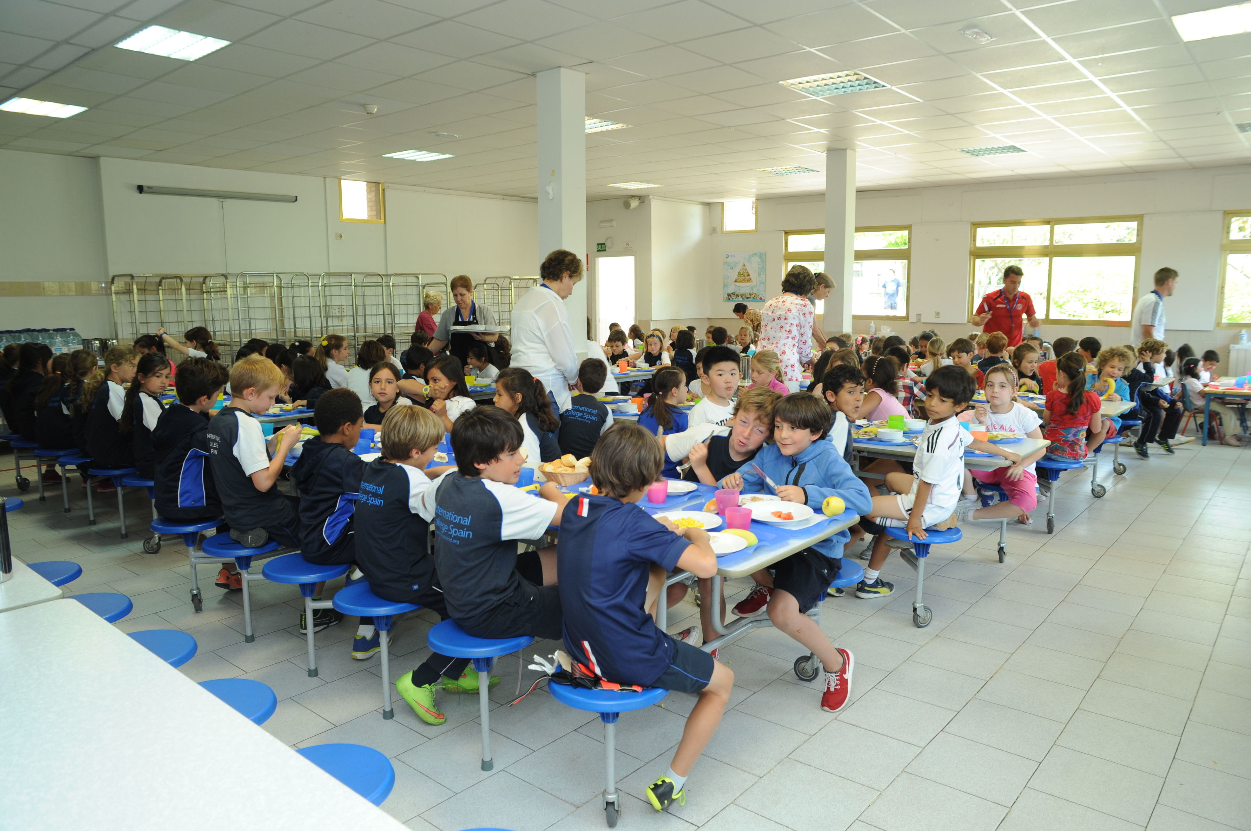 Cafeteria del colegio
