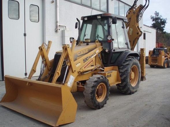 CASE 580 SLE