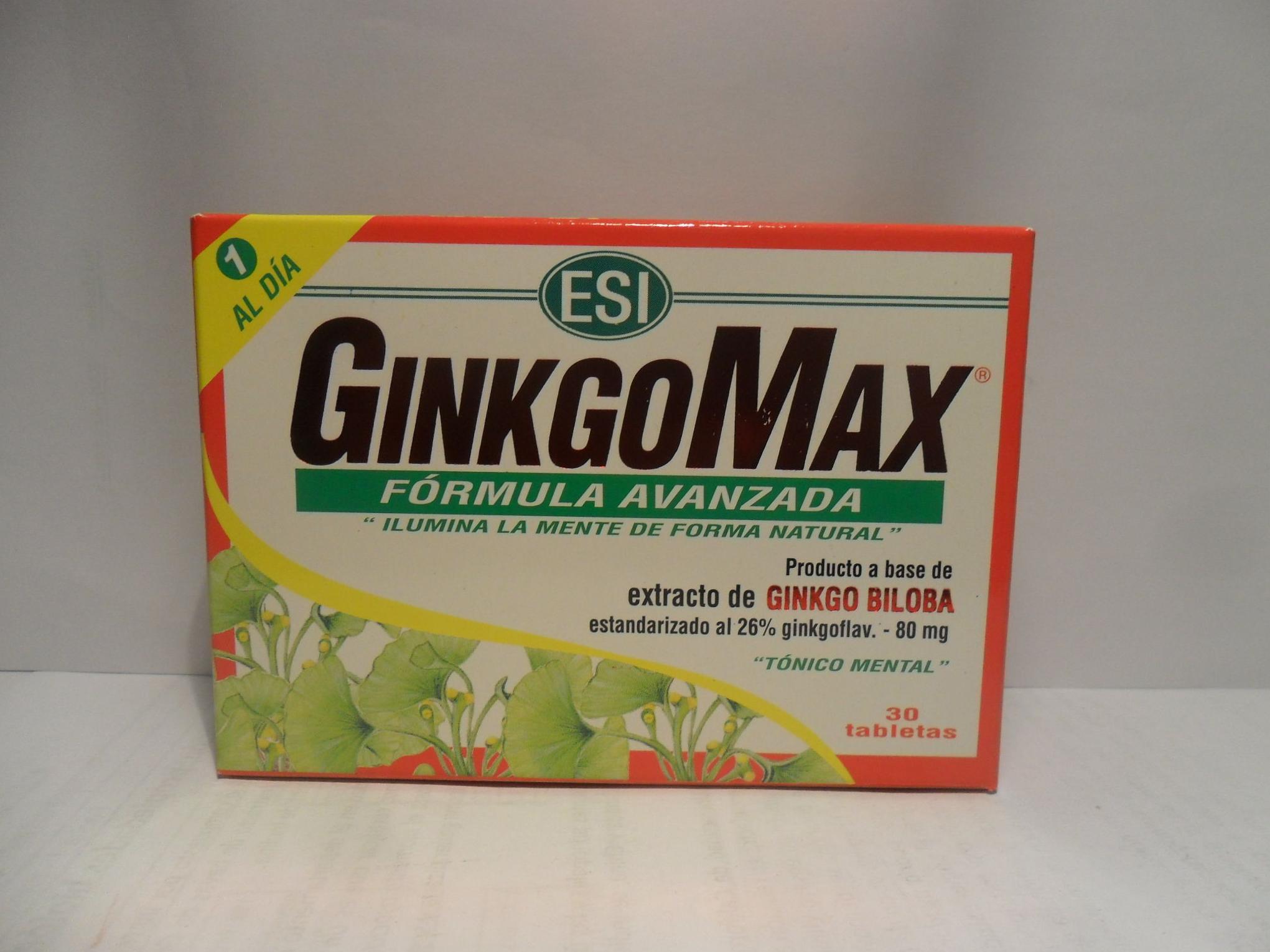 GinkgoMax: Catálogo de productos de Herbolario El Monte