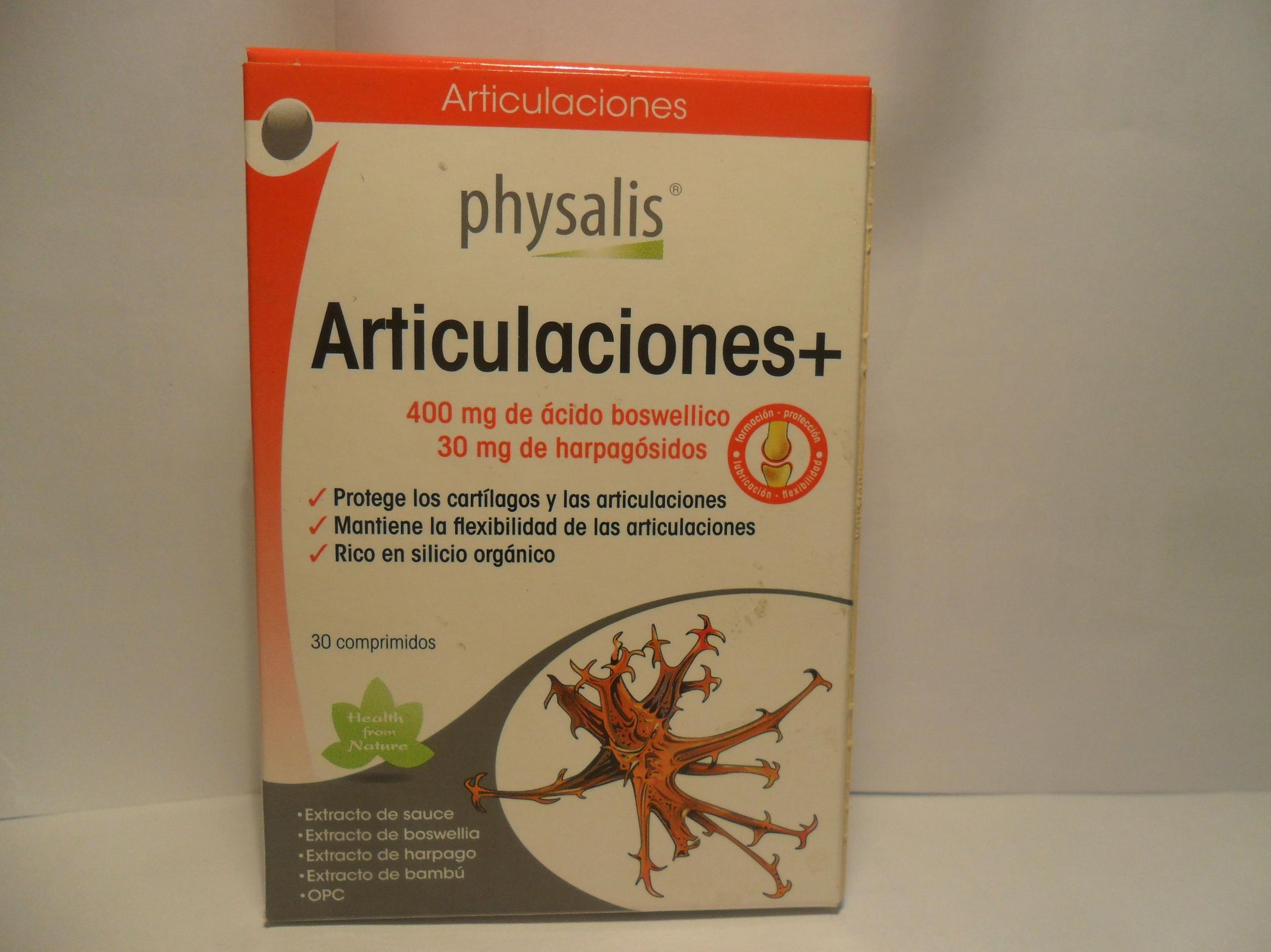 Articulaciones+       : Catálogo de productos de Herbolario El Monte