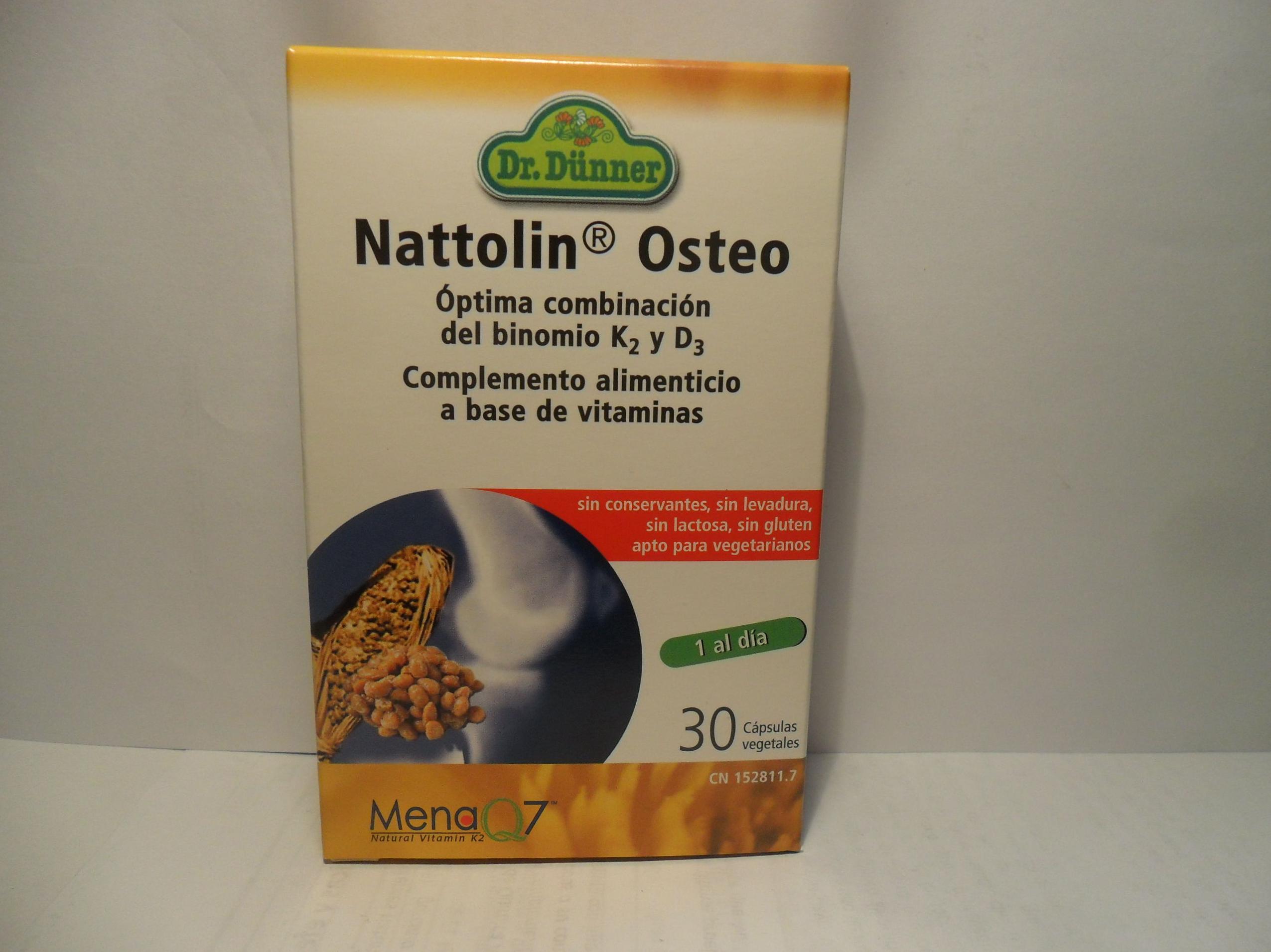Nattolin Osteo                : Catálogo de productos de Herbolario El Monte
