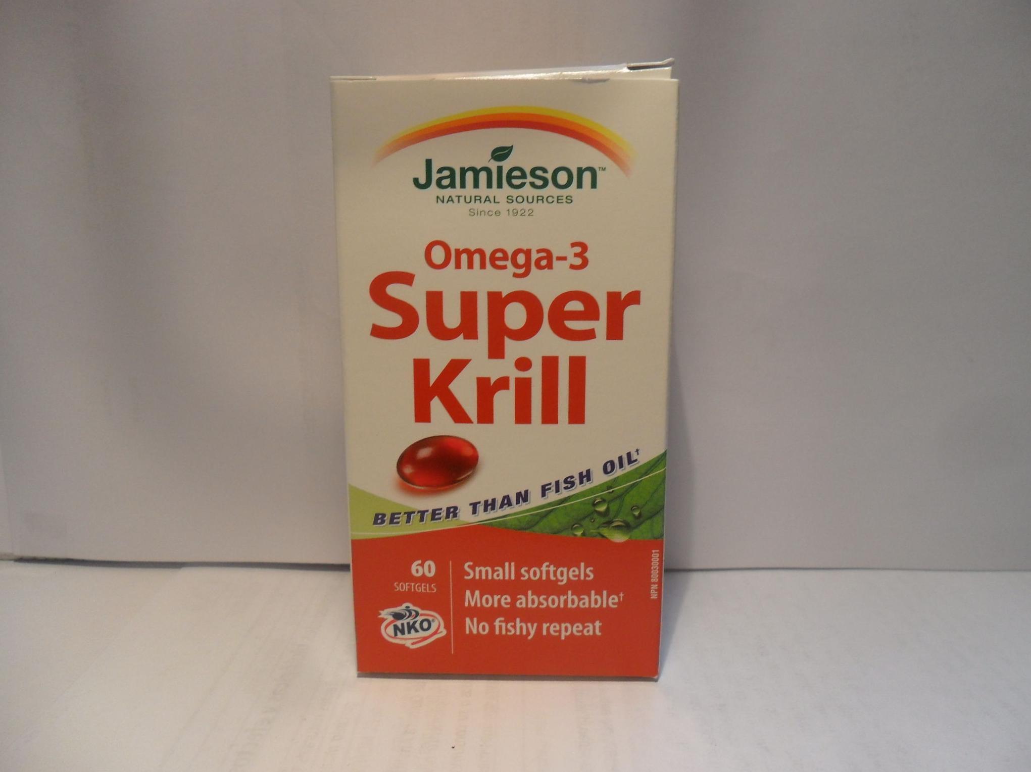 Omega-3  Super krill Jamieson      : Catálogo de productos de Herbolario El Monte