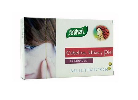 Multivigor Cabellos, uñas y piel       : Catálogo de productos de Herbolario El Monte