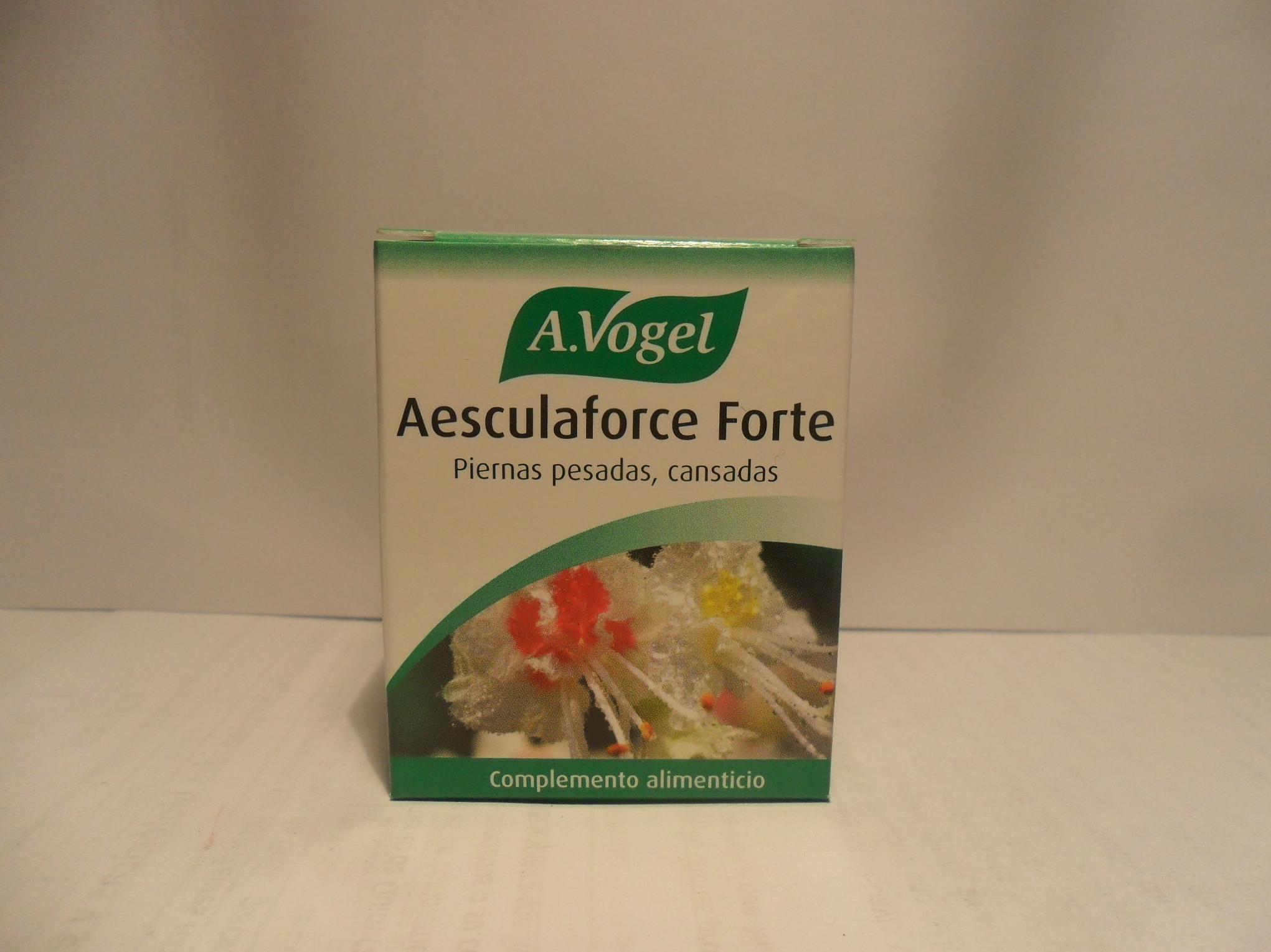 Aesculaforce Forte: Catálogo de productos de Herbolario El Monte