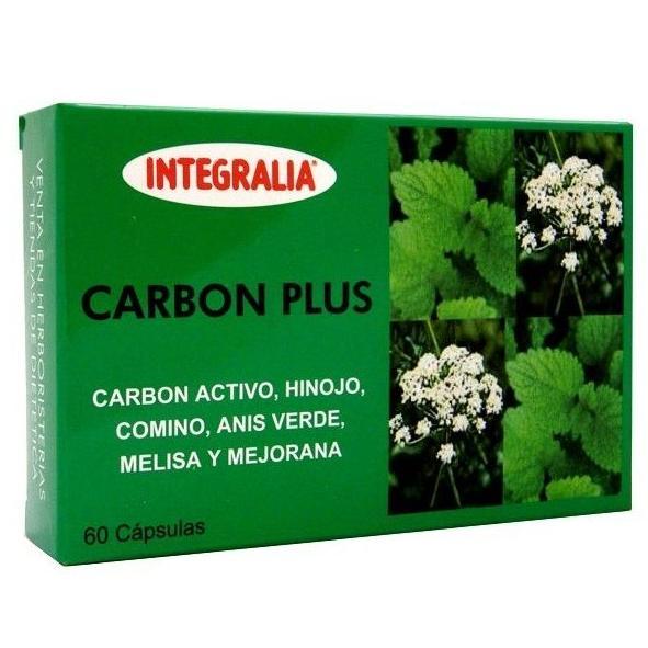 Carbón Plus 60 Capsulas Integralia                 : Catálogo de productos de Herbolario El Monte