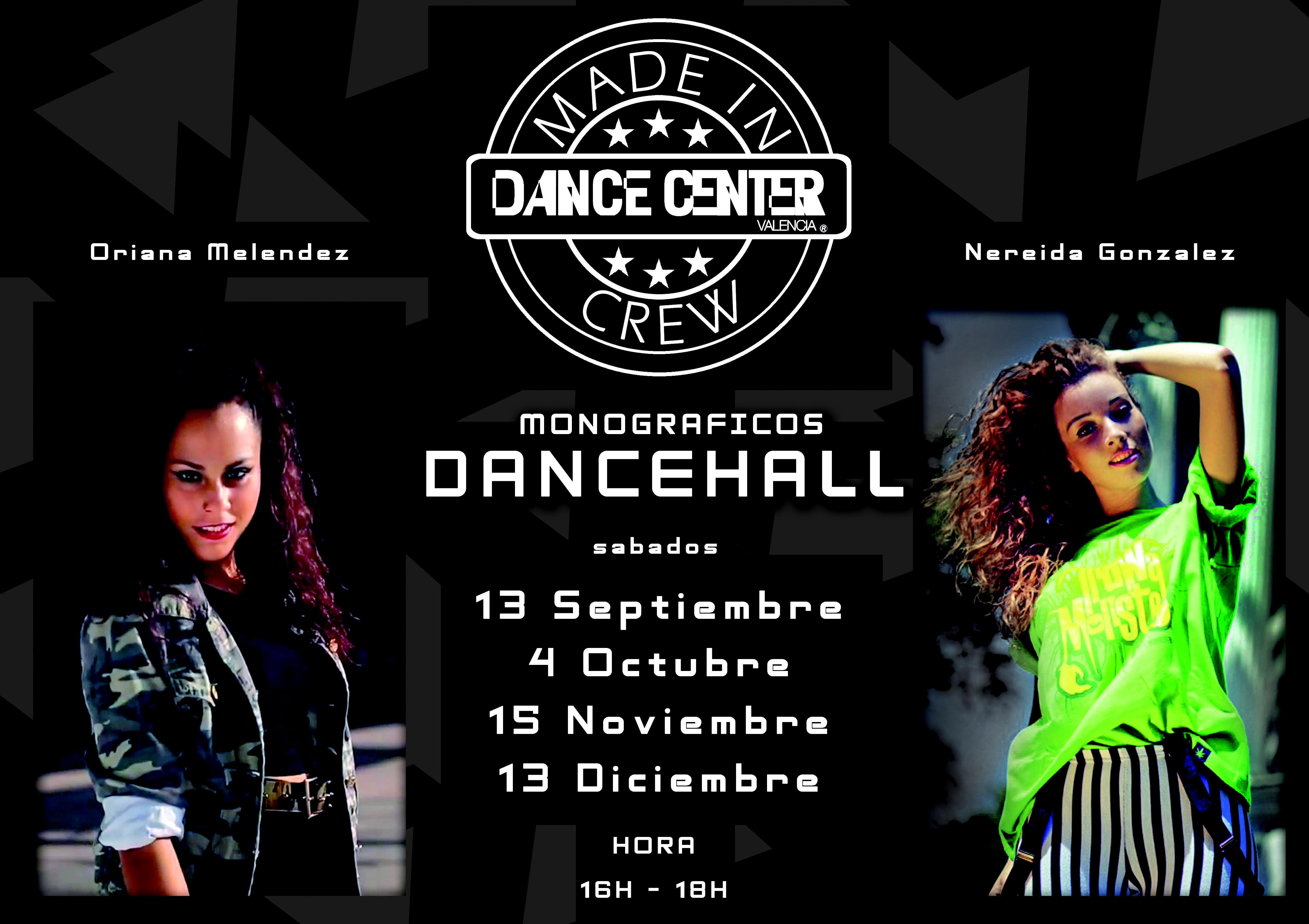 CLASES DANCEHALL EN DANCE CENTER VALENCIA