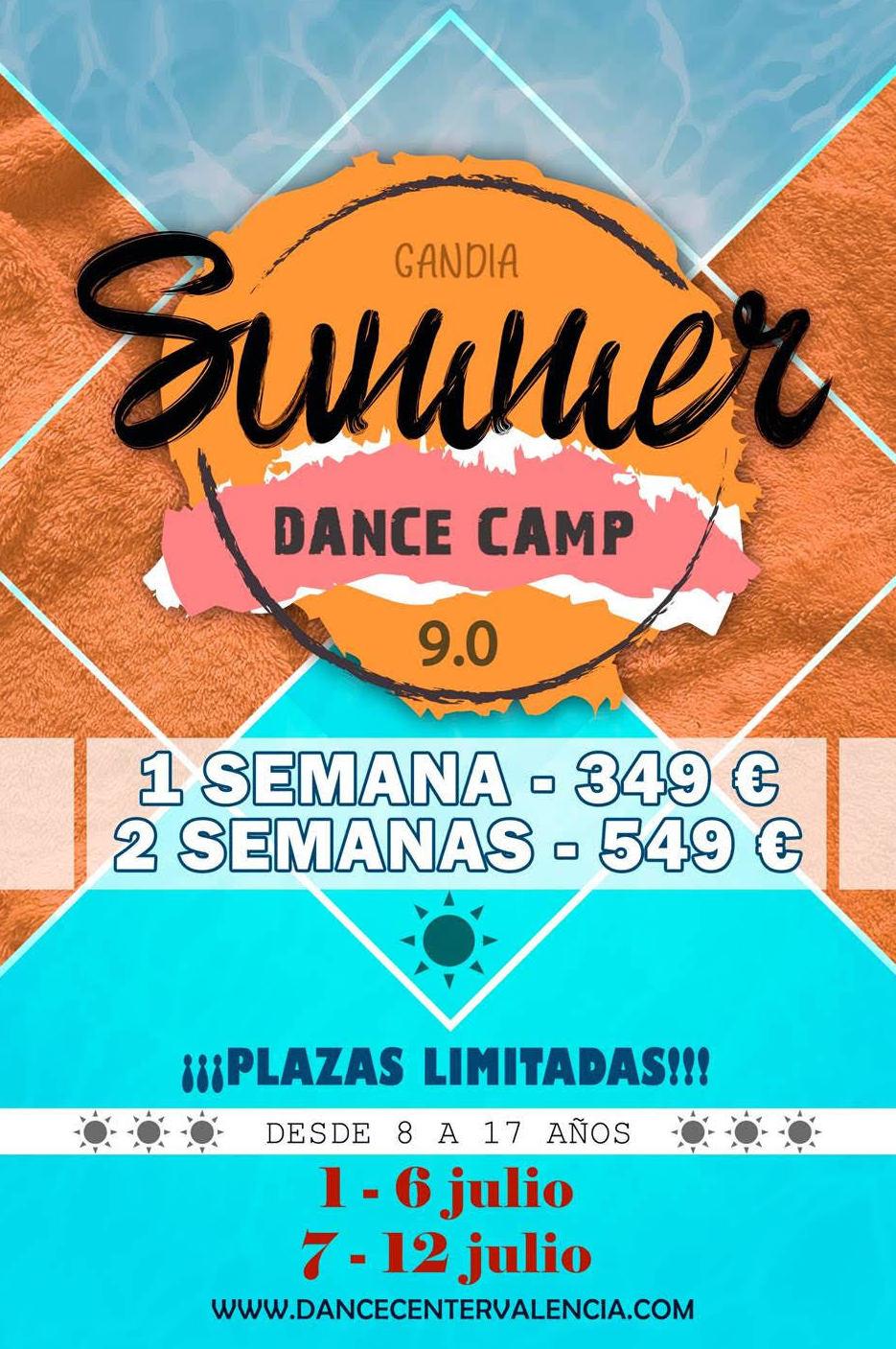 Urban Summer Dance Camp Junior 2019. Campamento de Verano 2019.: Clases y Campamentos de Dance Center Valencia